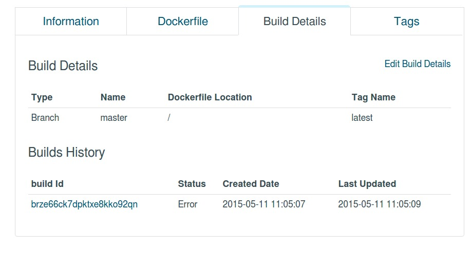 how to build docker and push to hub