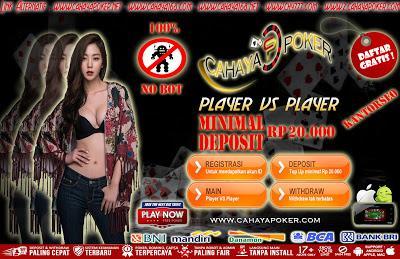 Cahayapoker agen poker online bandar kiu terpercaya indonesia betway online casino