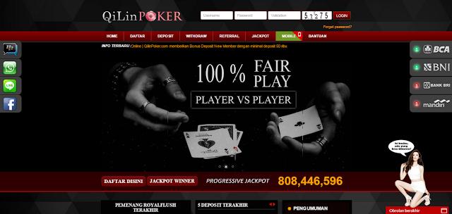 QilinPoker.net Agen Poker Domino QQ Ceme BlackJack Terpercaya.PNG
