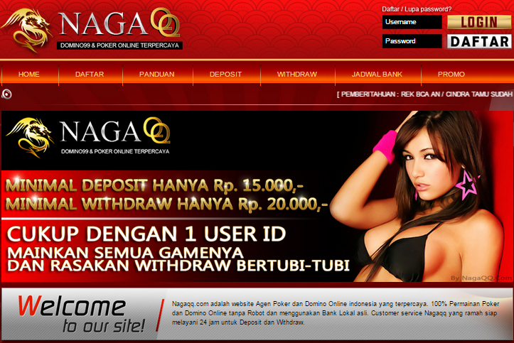NAGAQQ.COM | AGEN BANDARQ | BANDARQ ONLINE | ADUQ ONLINE | DOMINOQQ TERBAIK