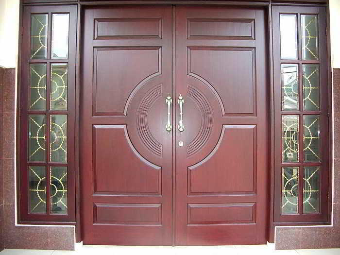 model pintu rumah minimalis besar 2 pintu