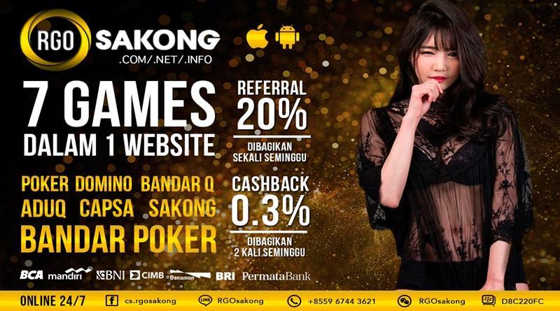 Agen Poker Sakong Online RGOSAKONG