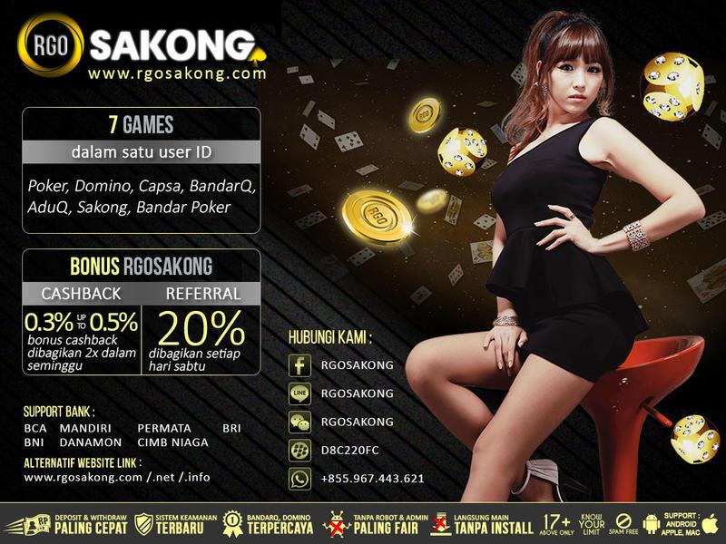 RGOSAKONG Judi Sakong BandarQ Poker Capsa Susun Online