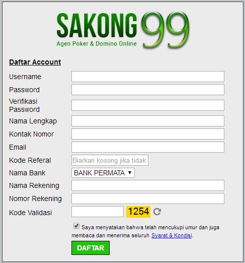 Panduan Mendaftar Akun Judi Online
