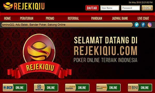 Rejekiqiu Com Situs Judi Online Domino Qiu Qiu Poker Online Android Iphone Judi Uang Asli Sakong Online