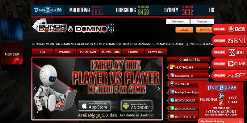 Bundapoker Agen Poker DominoQQ Online Promo Cashback 0.3%.JPG