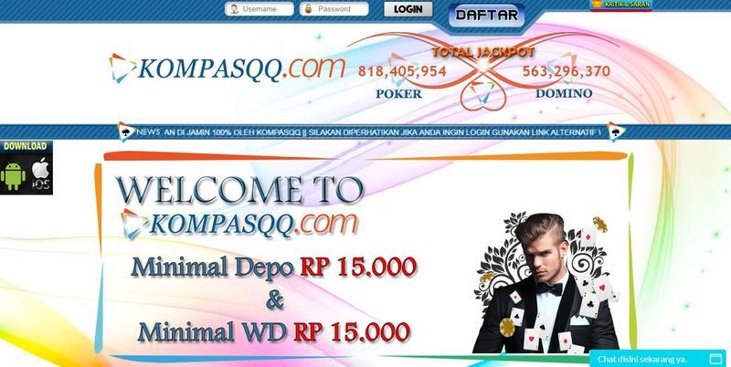 KompasQQ Agen Judi DominoQQ Poker Online Terpercaya di Asia.JPG