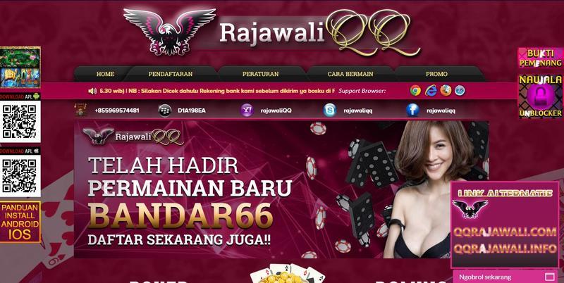RajawaliQQ Agen DominoQQ Poker Online Terpercaya Di Indonesia.JPG