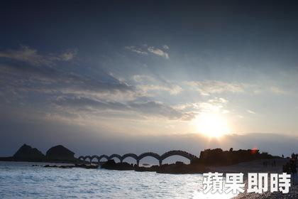 2014本島第一道曙光:三仙台(照片來源:蘋果即時新聞)