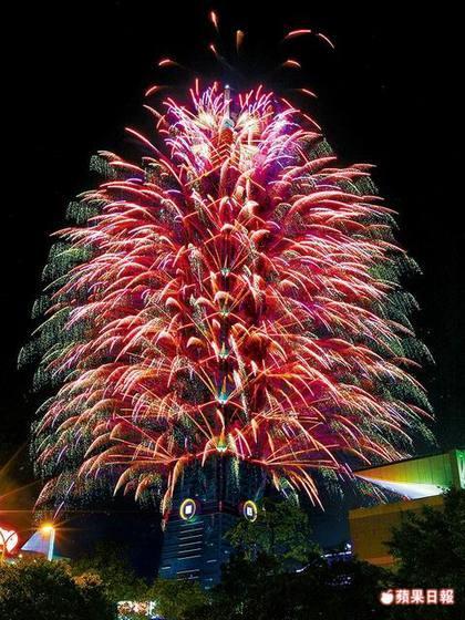 每年跨年,台北101的煙火秀已成為全世界的焦點之一了。(照片來源:蘋果即時新聞)