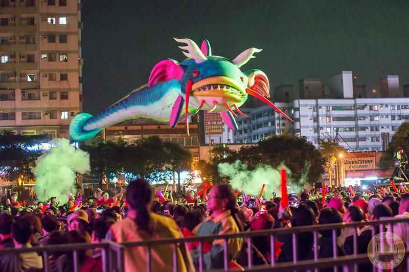 十公尺大鯰魚3(圖片來源:明華園戲劇總團粉絲團)