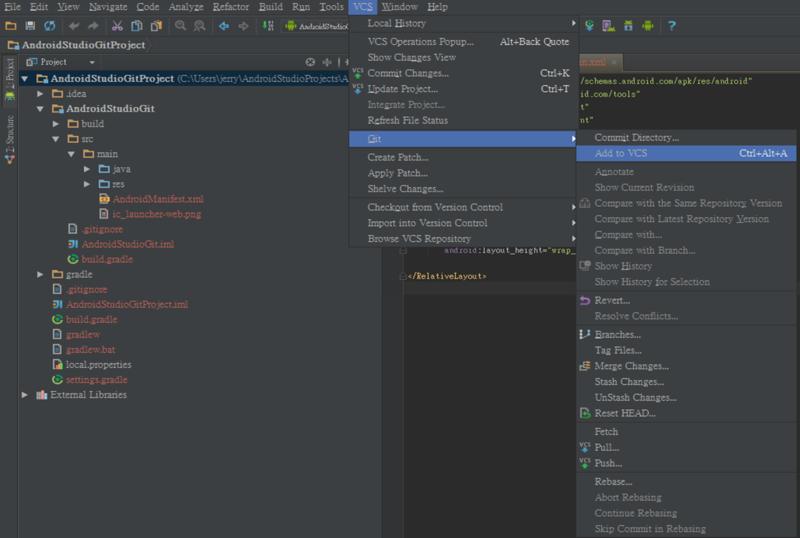 Android Studio Git Tutorial (Part 1) « Wii's Blog